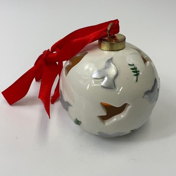 Ornament ceramic light changing